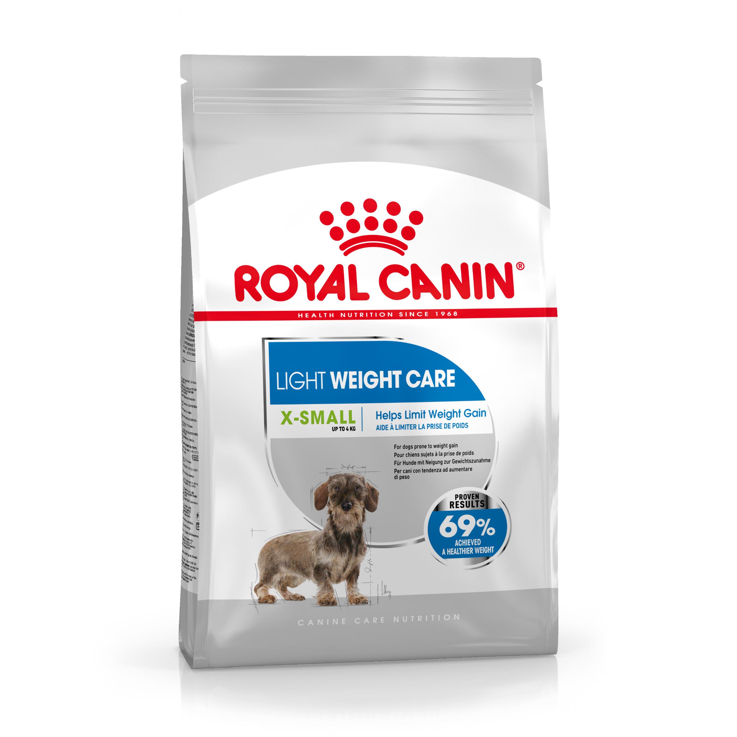 Light Weight Care Adult X-Small Torrfoder för hund