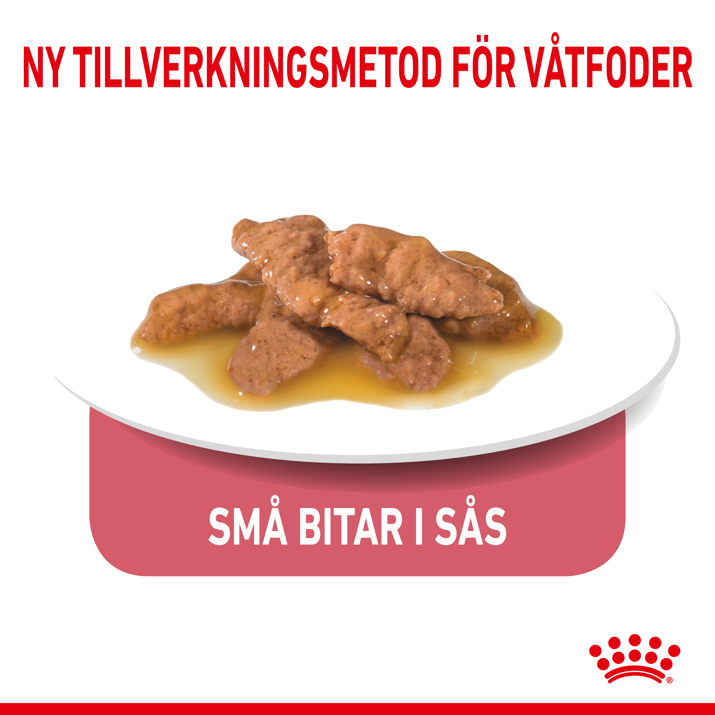 Indoor Sterilised Gravy Adult Våtfoder för katt