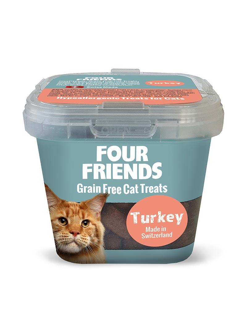 Cat Treat Turkey kattgodis