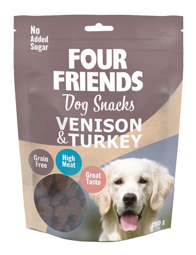 Dog Snacks Venison & Turkey hundgodis