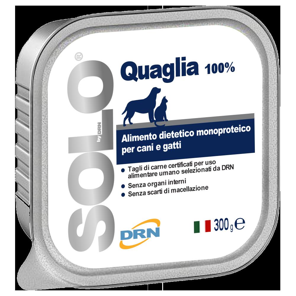 Solo Vaktel mono-proteinfoder - 300 g