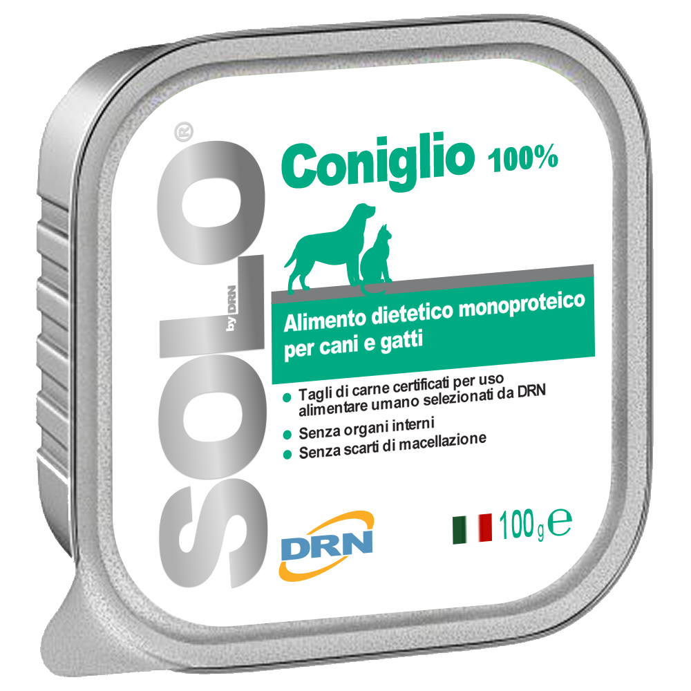 Solo Kanin mono-proteinfoder - 100 g