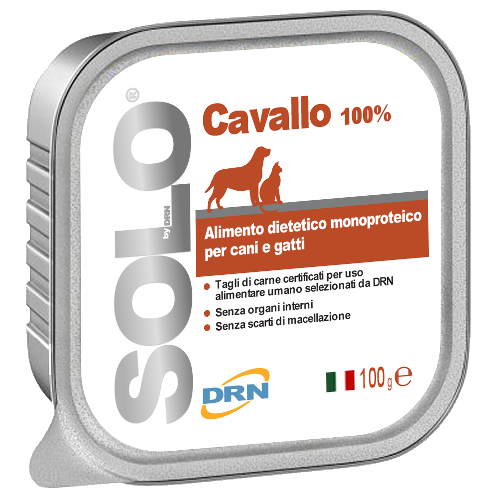 Solo Häst mono-proteinfoder - 100 g