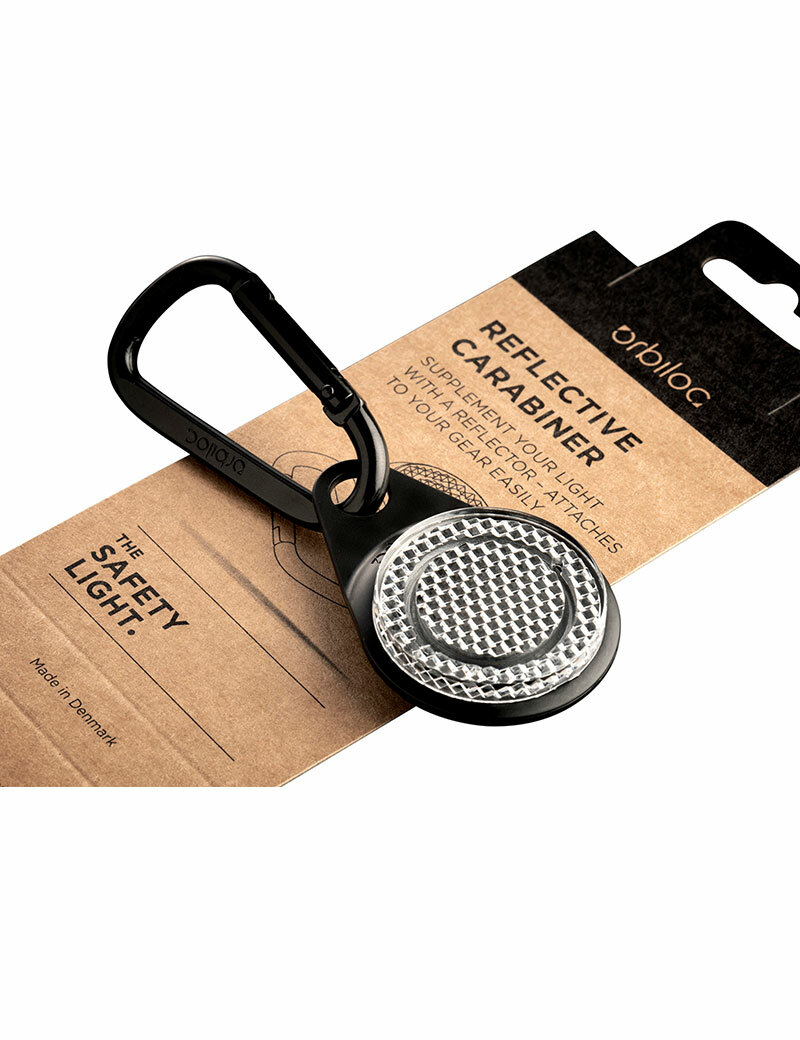 Reflective Carabiner - Reflex med karbinhake