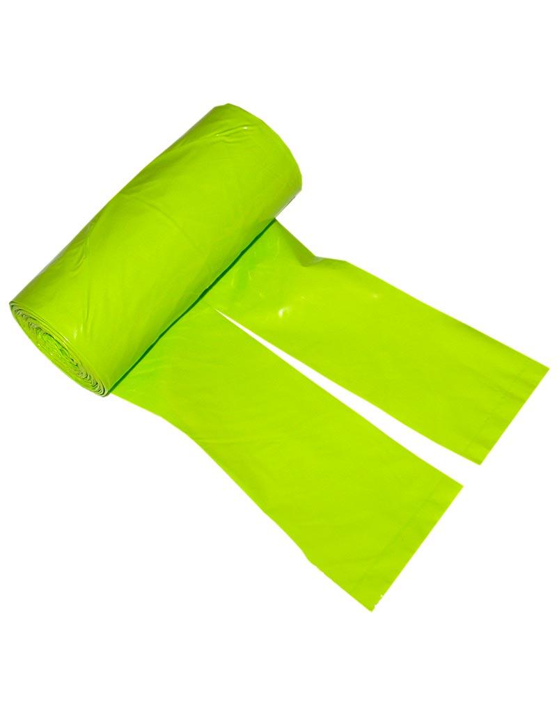 Bajspåsar med knythandtag 50 st - Lime