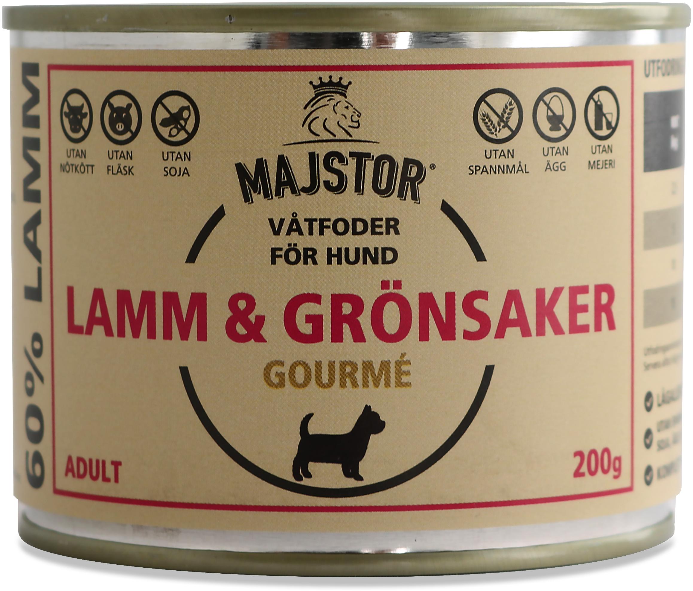 Lamm & Grönsaker Gourmè Våtfoder Hund