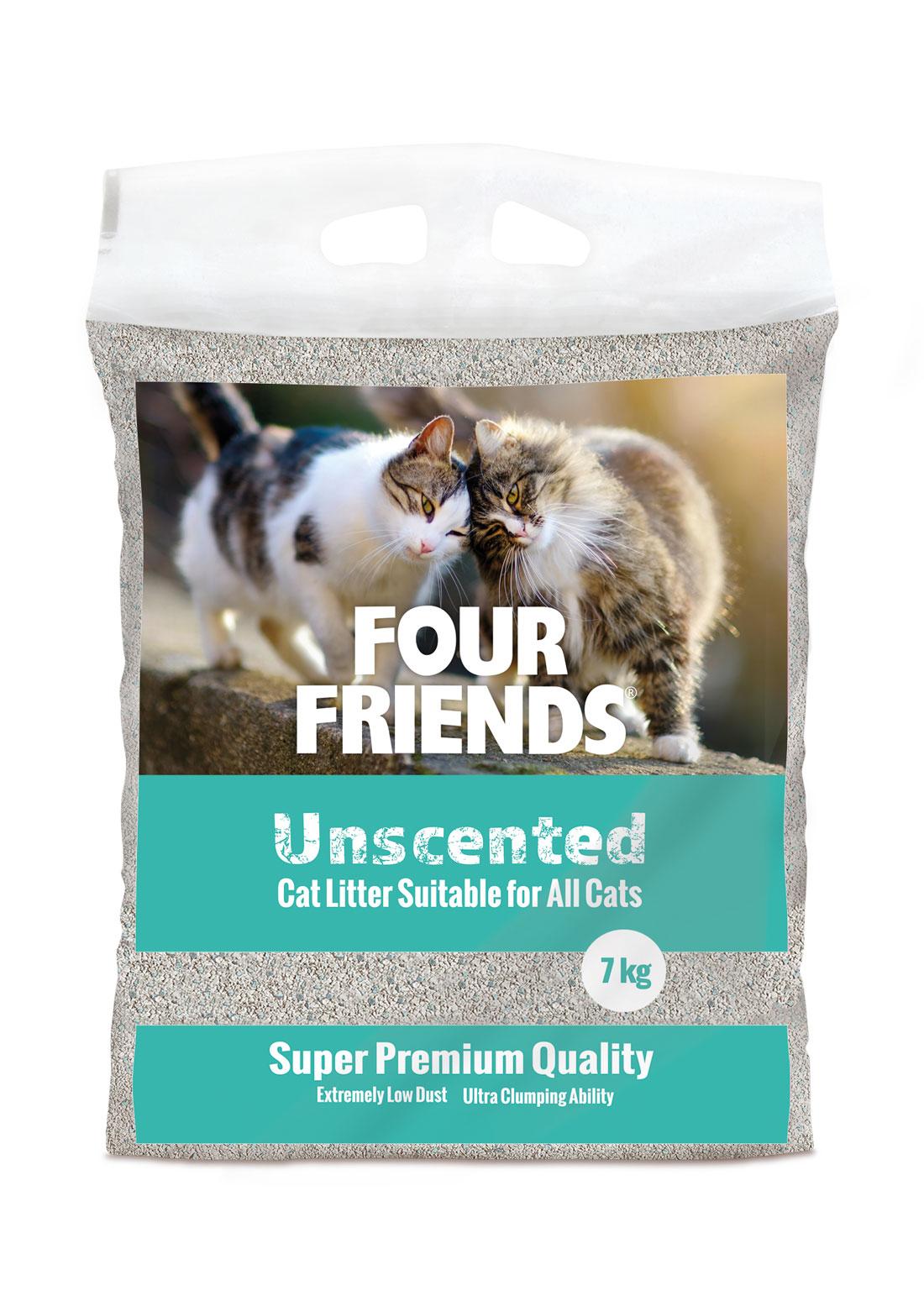 Unscented Kattsand - 7 kg