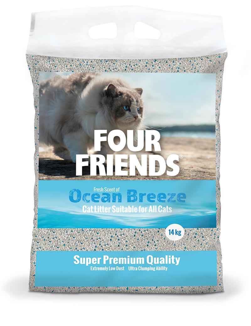 Ocean Breeze kattsand - 14 kg