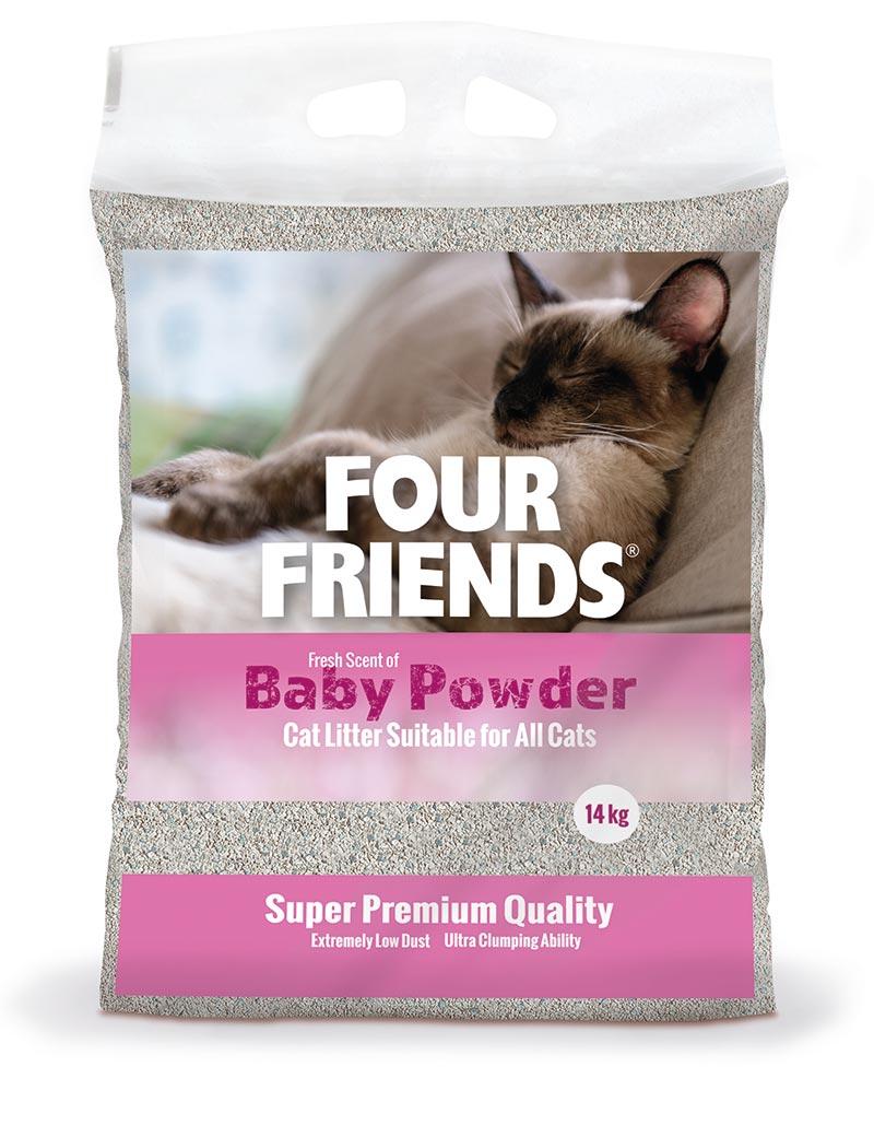 Baby Powder kattsand - 14 kg