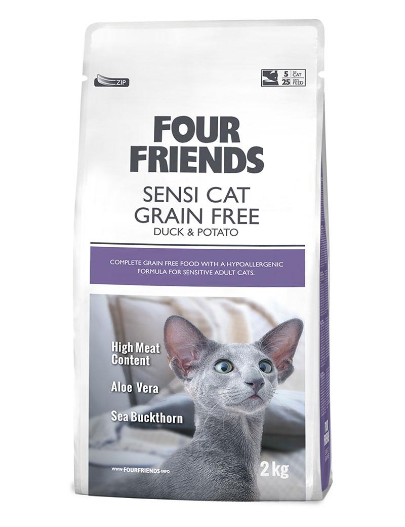 Sensi Cat Grain Free kattfoder - 2 kg