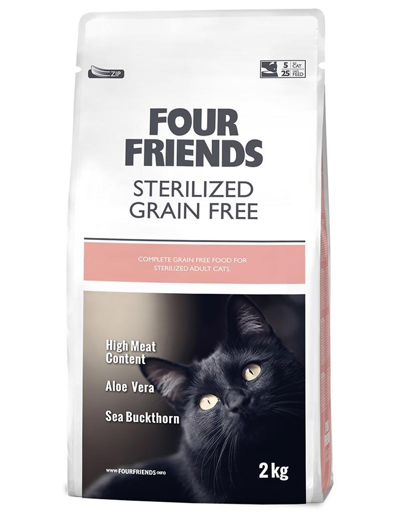 Sterilized Grain Free Kattfoder - 2 kg