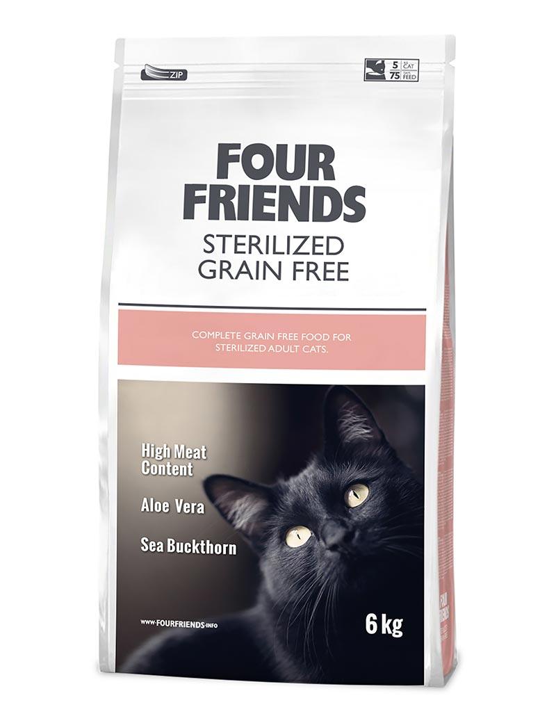 Sterilized Grain Free Kattfoder - 6 kg