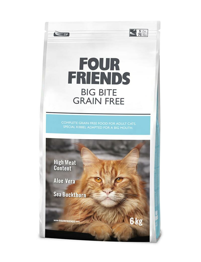 Big Bite Grain Free Kattfoder - 6 kg