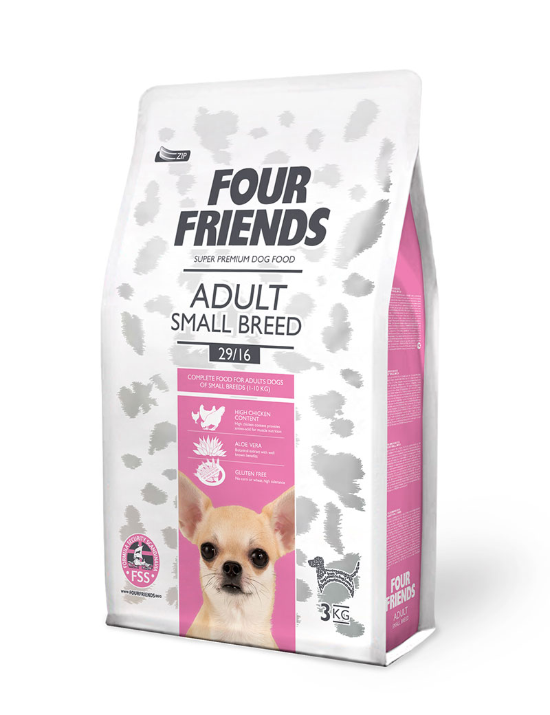 Adult Small Breed Hundfoder - 3 kg