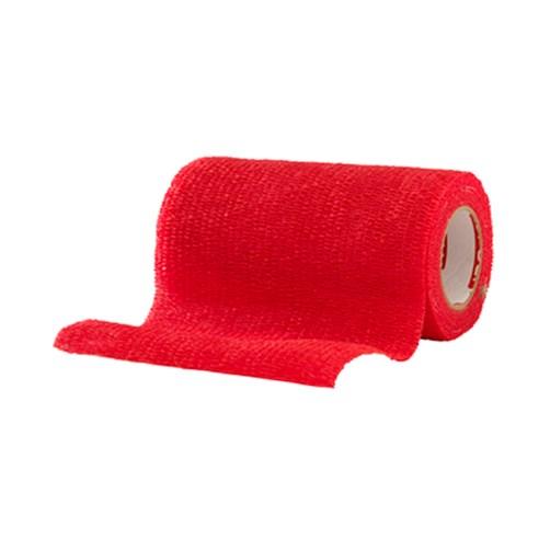 Självhäftande Bandage Röd - Large
