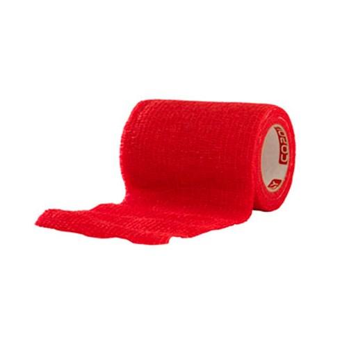 Självhäftande Bandage Röd - Medium