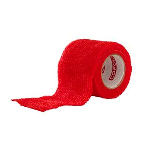 Självhäftande Bandage Röd - Small