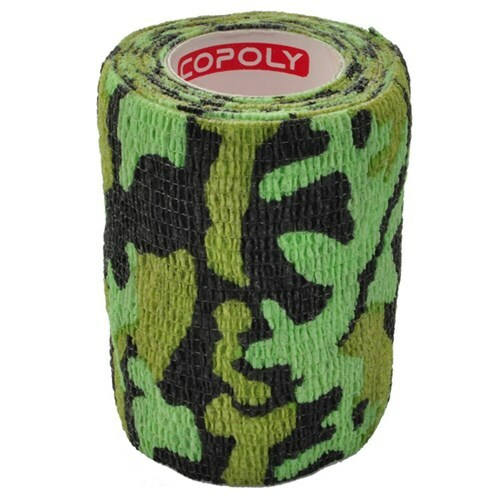 Självhäftande Bandage Kamoflagefärgad Grön - Medium