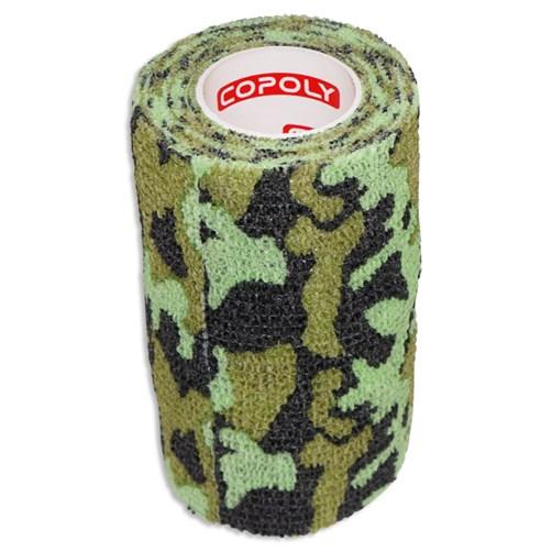 Självhäftande Bandage Kamoflagefärgad Grön - Large