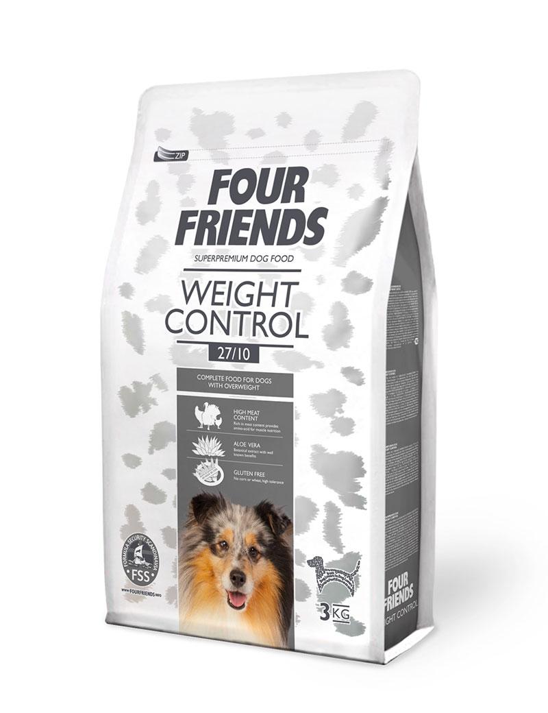 Weight Control Hundfoder - 3 kg