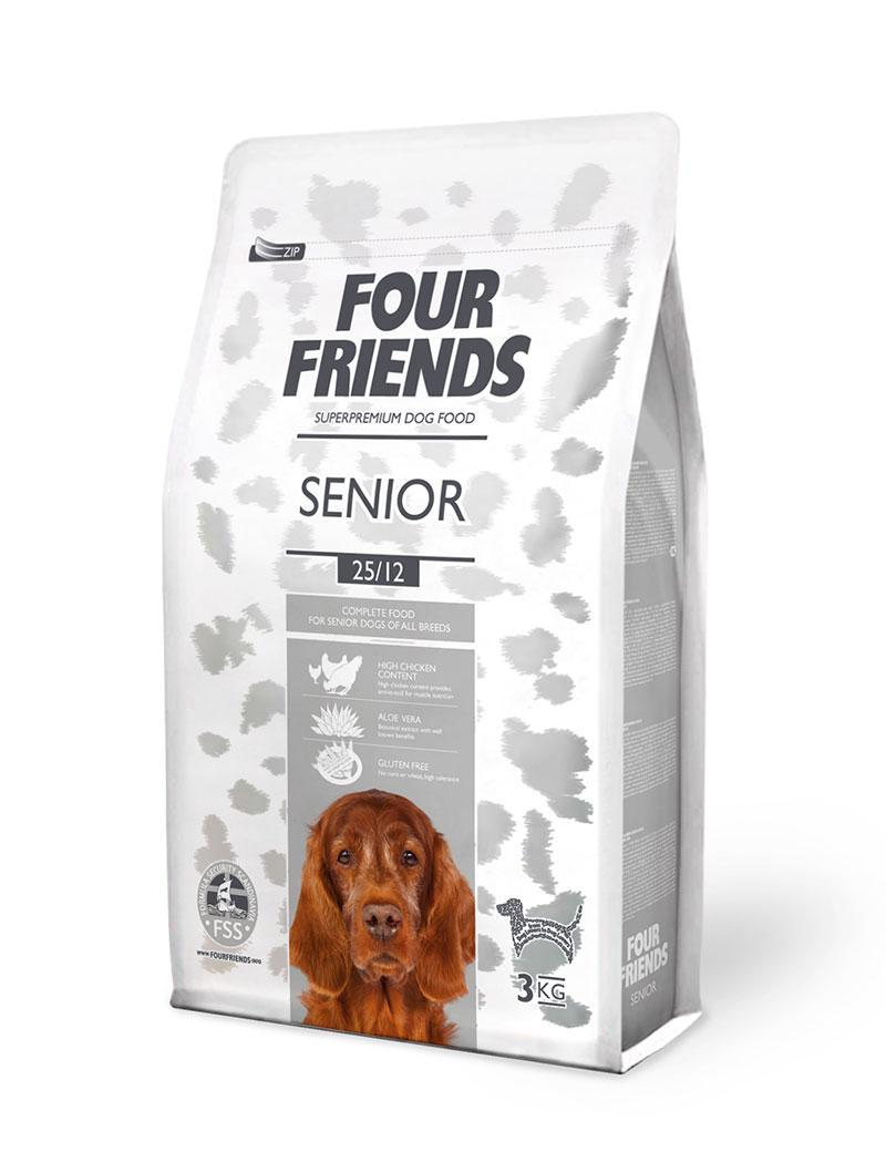 Senior Hundfoder - 3 kg