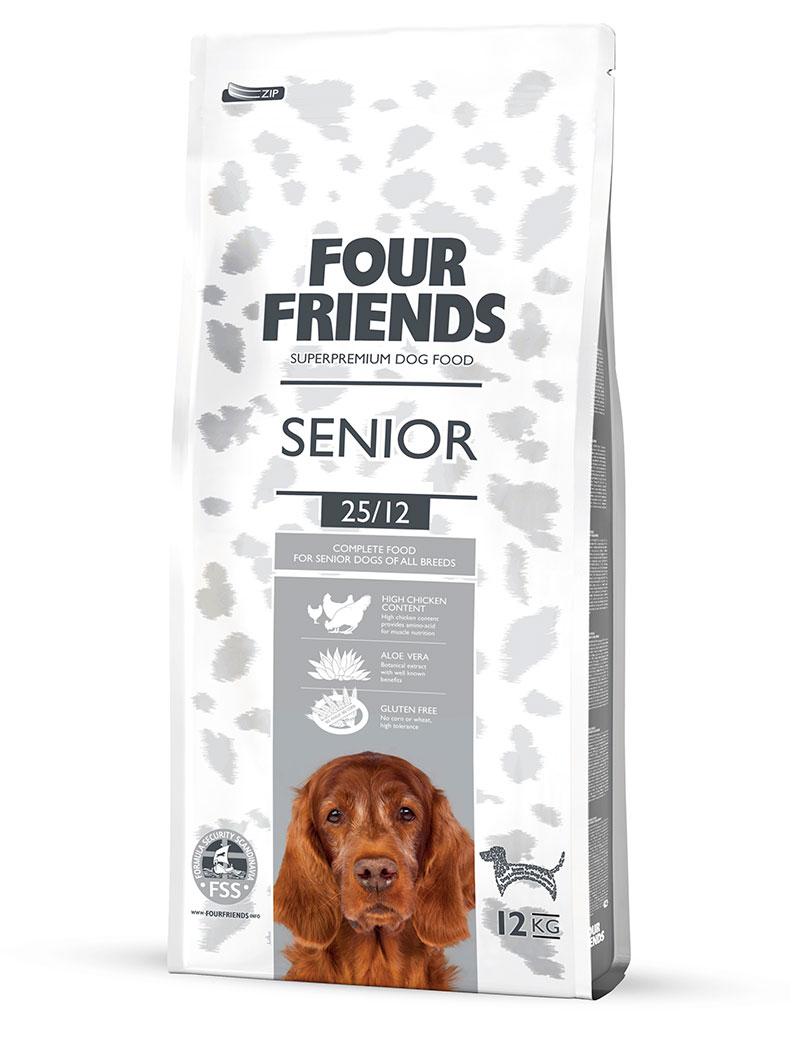 Senior Hundfoder - 12 kg, 17 kg