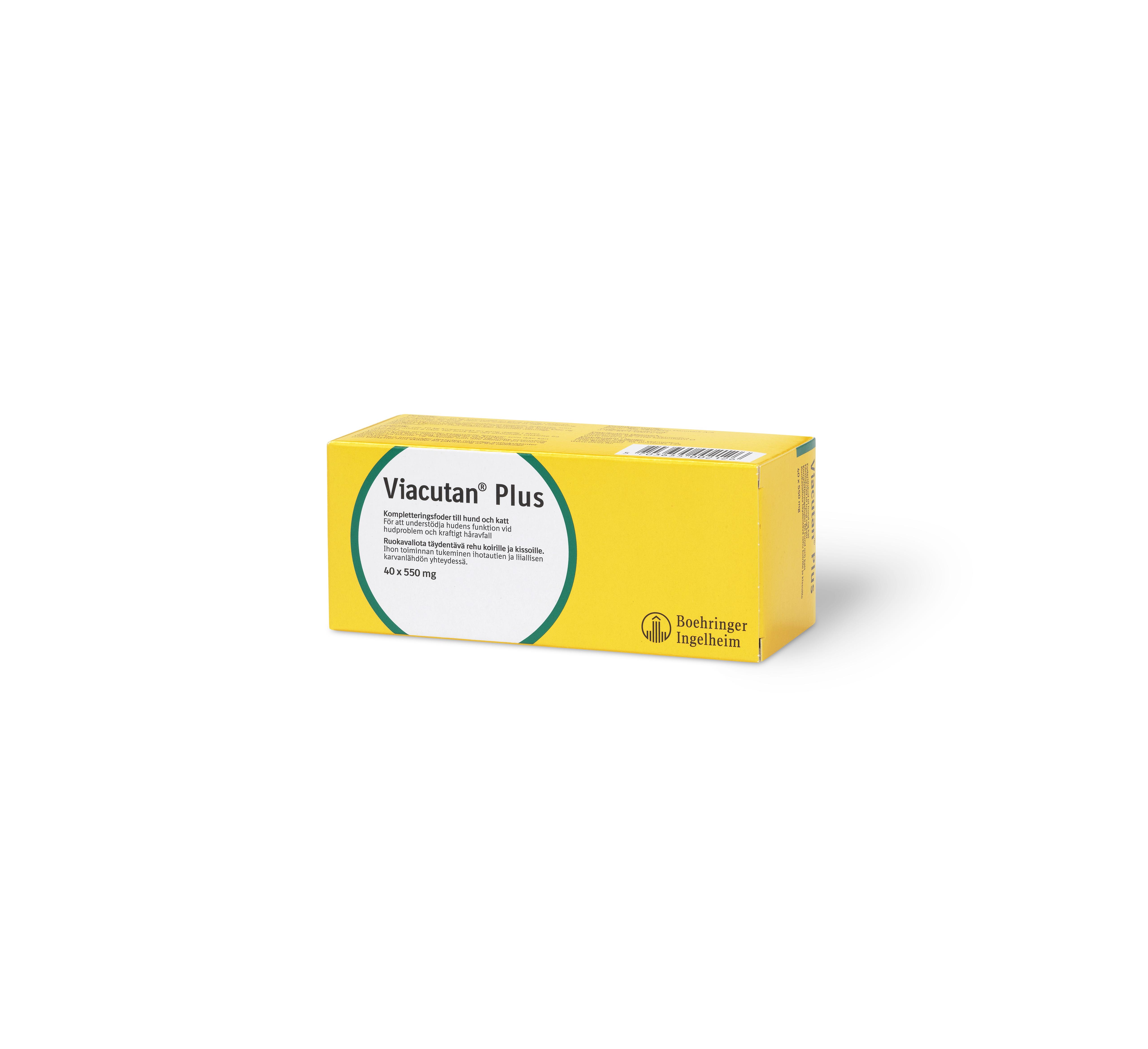 Viacutan Plus Kapslar - 40 kapslar x 550 mg