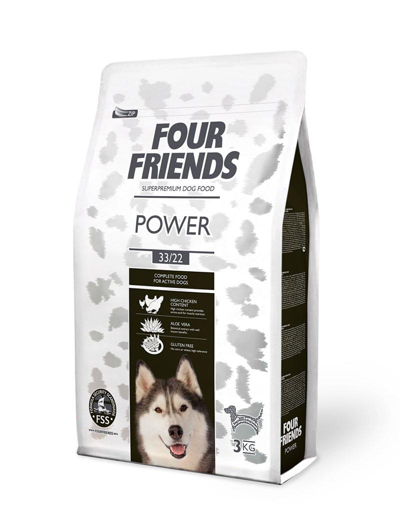 Power Hundfoder - 3 kg