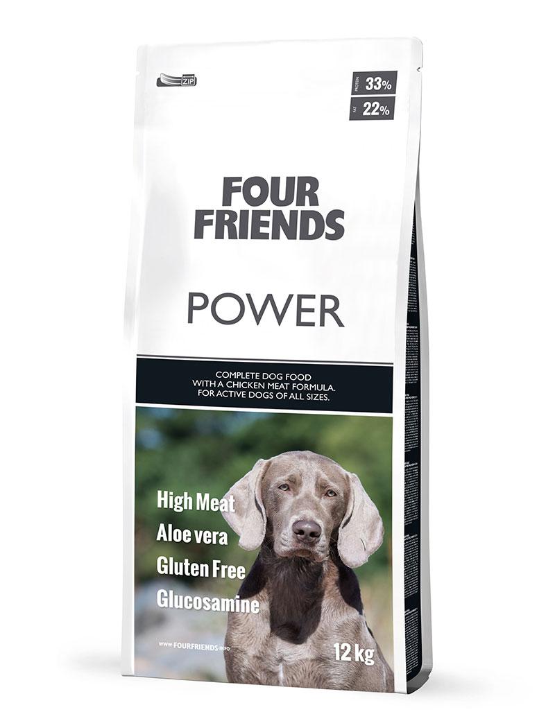 Power Hundfoder - 12 kg, 17 kg