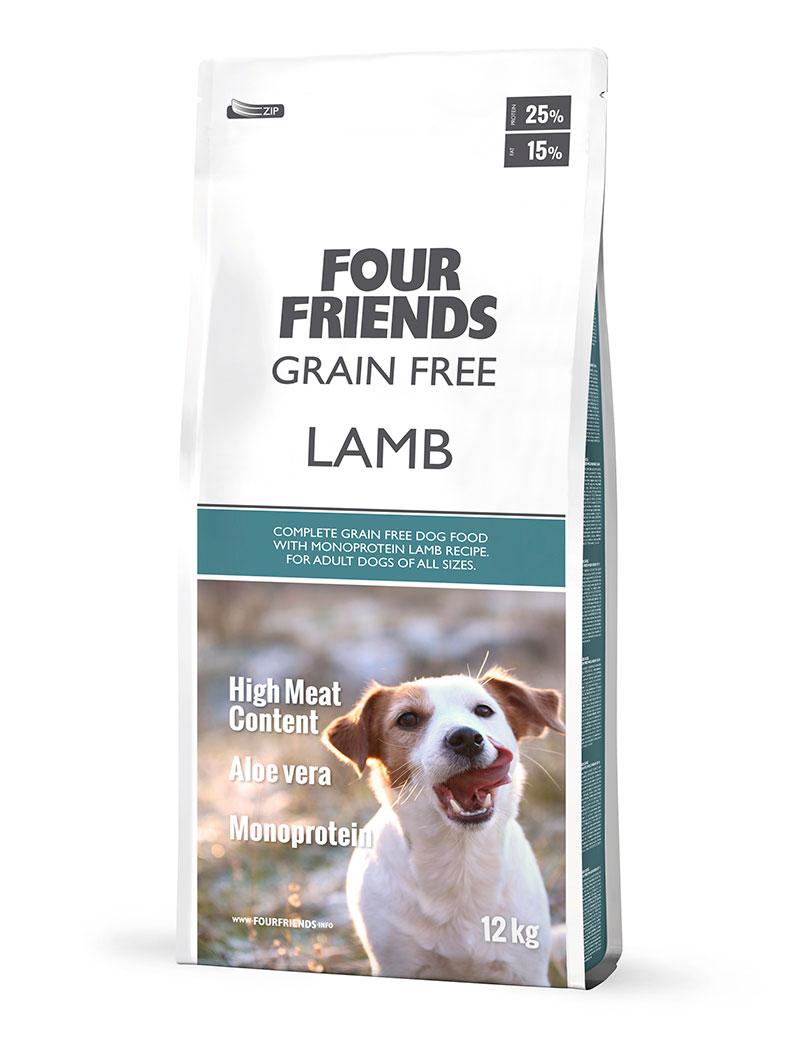 Grain Free Lamb Hundfoder - 12 kg, 17 kg