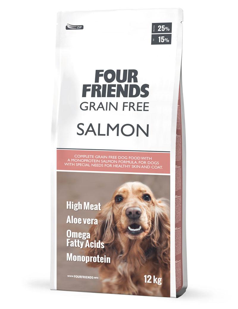 Grain Free Salmon Hundfoder - 12 kg, 17 kg
