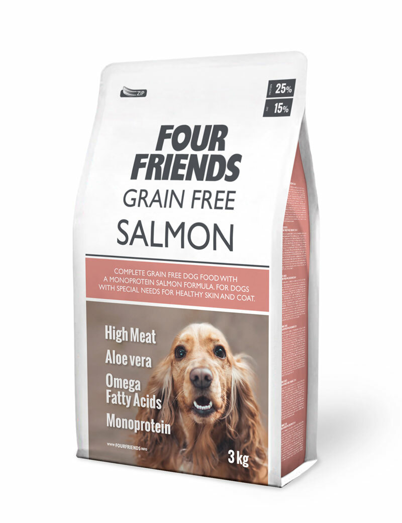 Grain Free Salmon Hundfoder - 3 kg