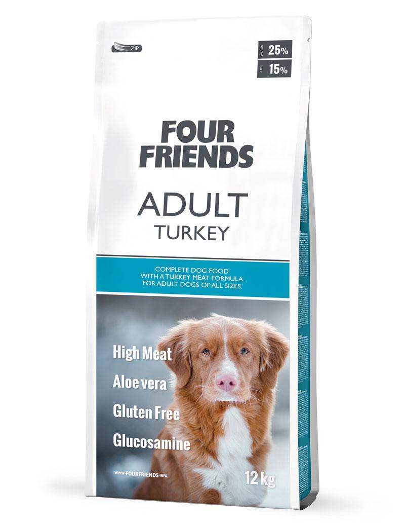 Adult Turkey Monoprotein hundfoder - 12 kg