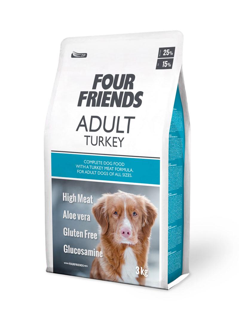 Adult Turkey Monoprotein hundfoder - 3 kg