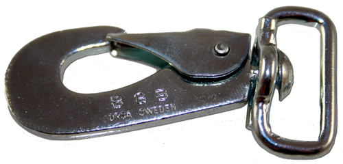 Jogginglina Dubbel Svart 25mm - BGB-hake