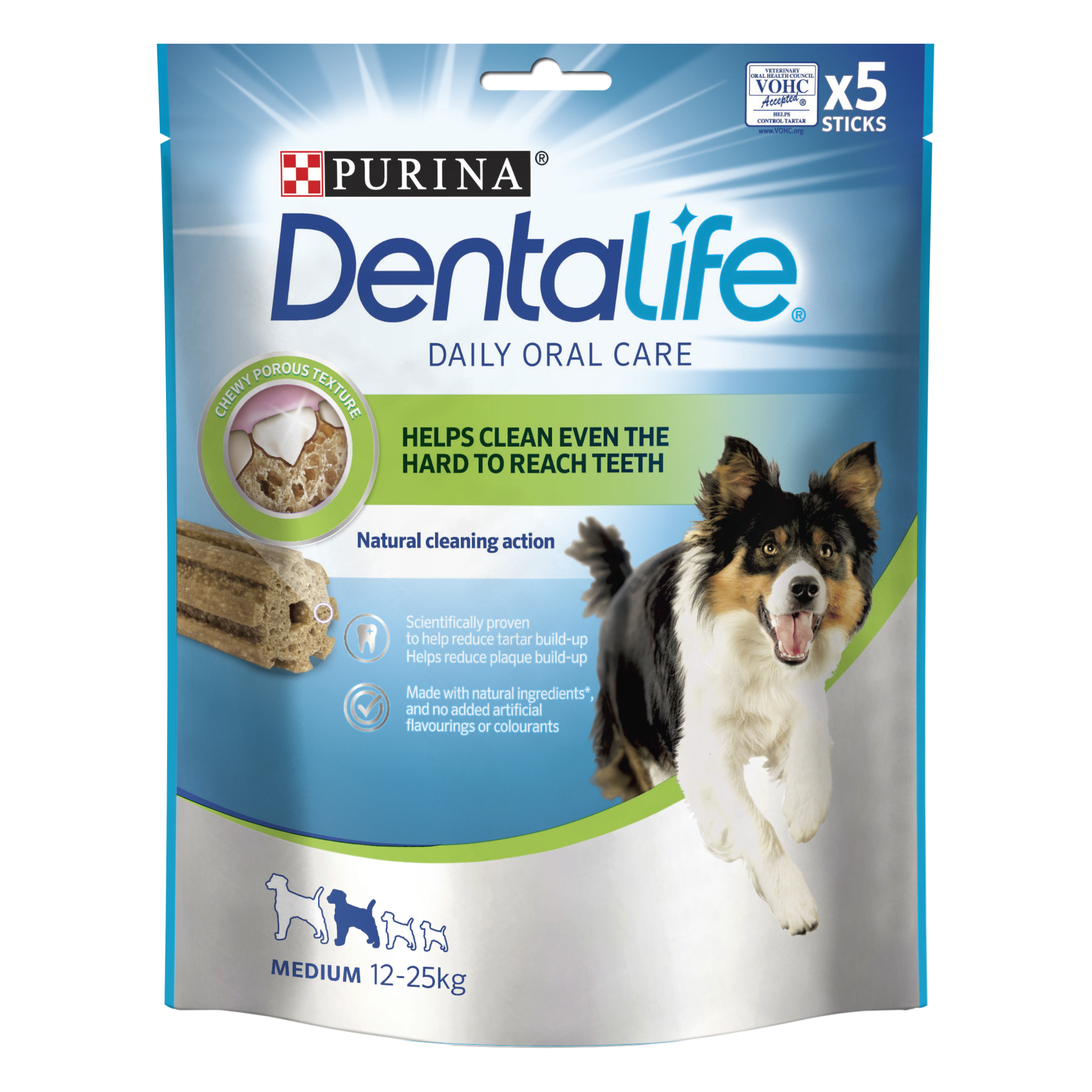 DentaLife tuggpinne Medium - 1 påse, 5 st tuggpinnar