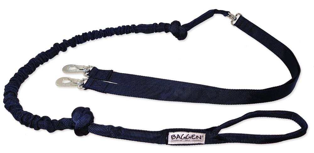 Jogginglina Dubbel Extreme 25mm - Pistolhake i mässing, BGB-hake