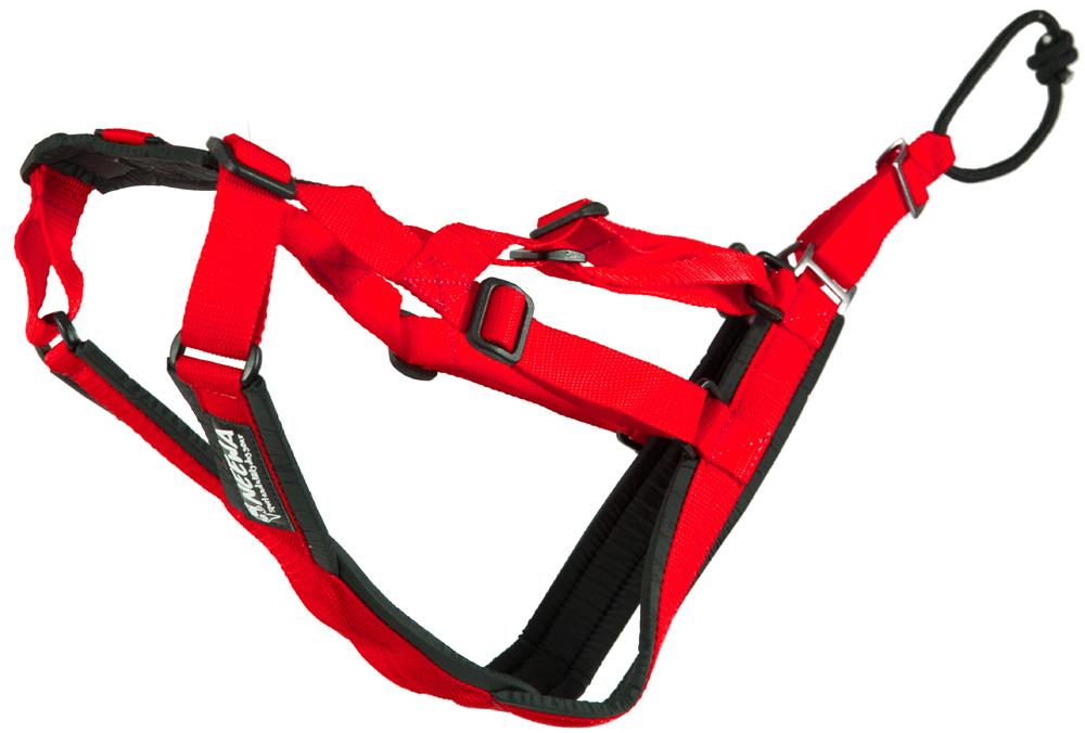 Sled Dog X-Back - Röd Small, Röd Medium, Röd Large