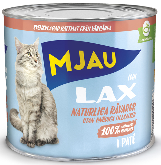 Lax Paté Våtfoder för Katt