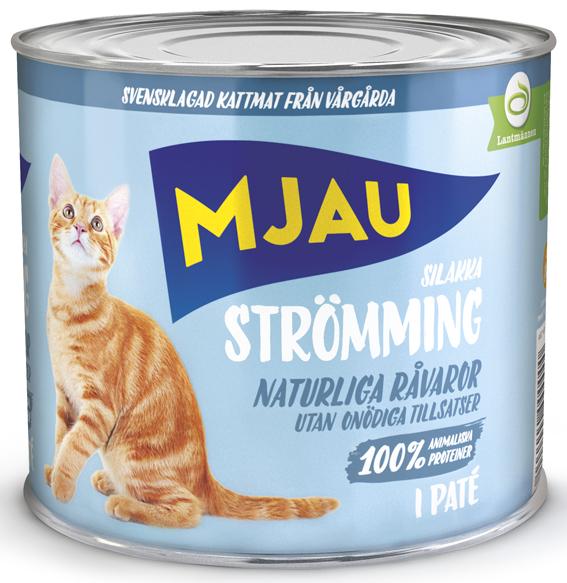 Strömming Paté Våtfoder för Katt