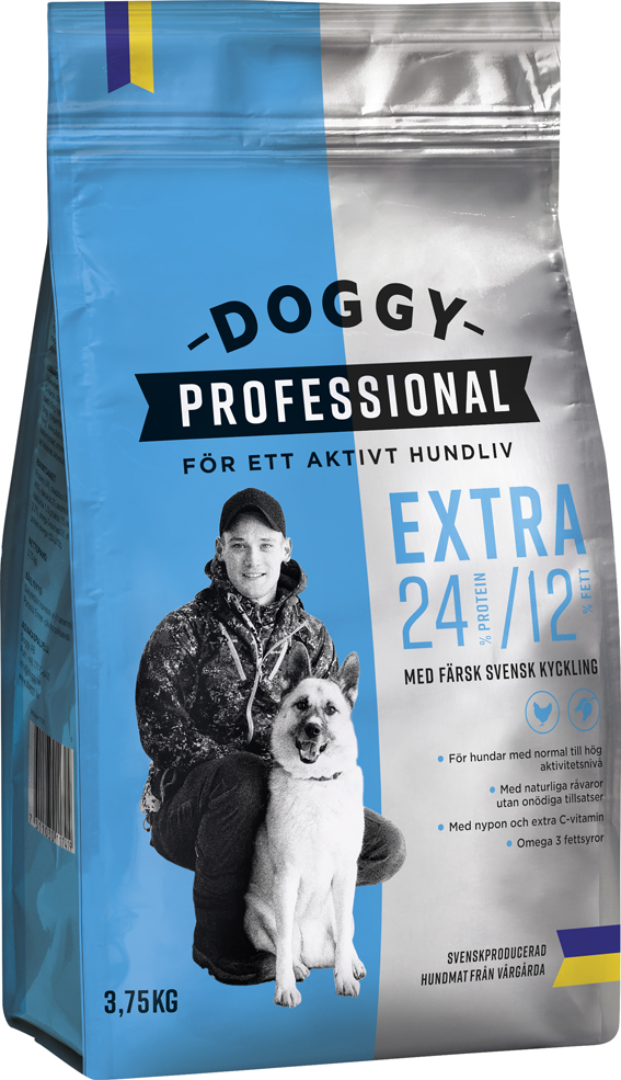 Professional Extra för Hund - 3,75 kg