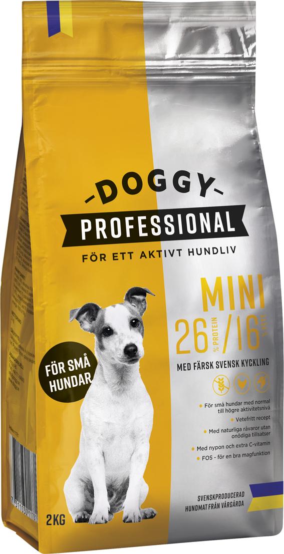 Professional Mini för Hund