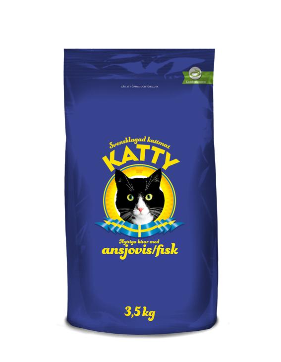 Ansjovis Torrfoder för katt - 3,5 kg