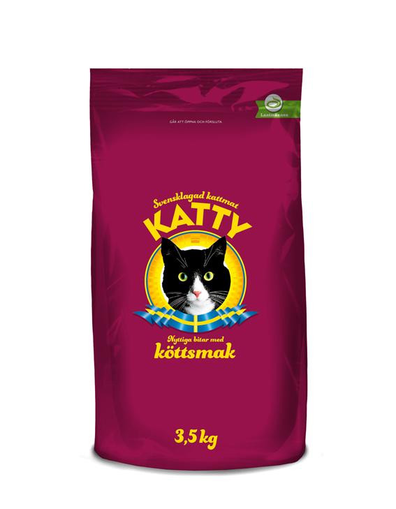 Kött Torrfoder för katt - 3,5 kg