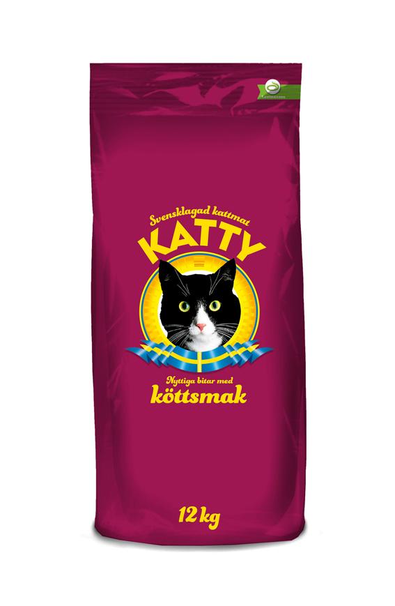 Kött Torrfoder för katt - 12 kg