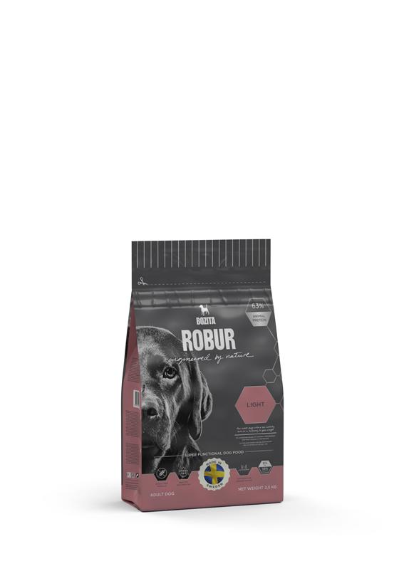 Robur Light Hundfoder för Övervikt - 2,5