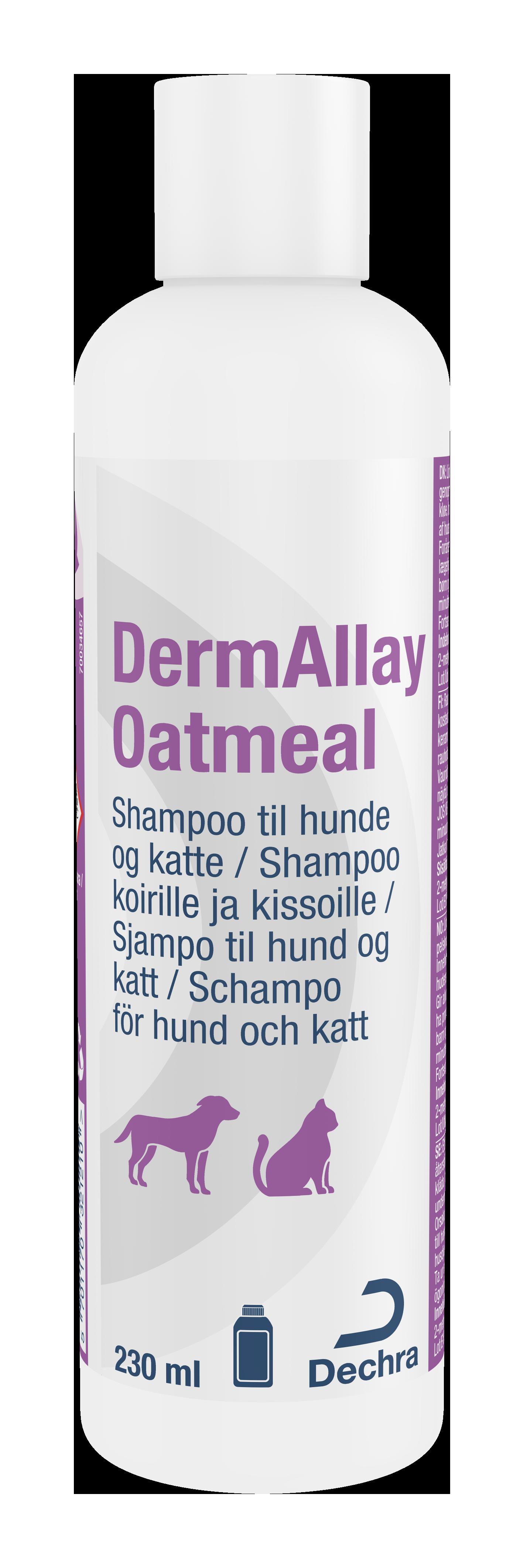 DermAllay Oatmeal Schampo - 230 ml