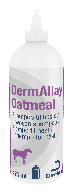 DermAllay Oatmeal Schampo - 473 ml