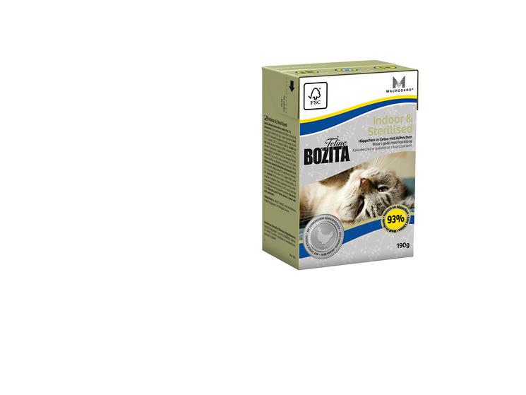 Feline Indoor & Sterilised gelé för katt