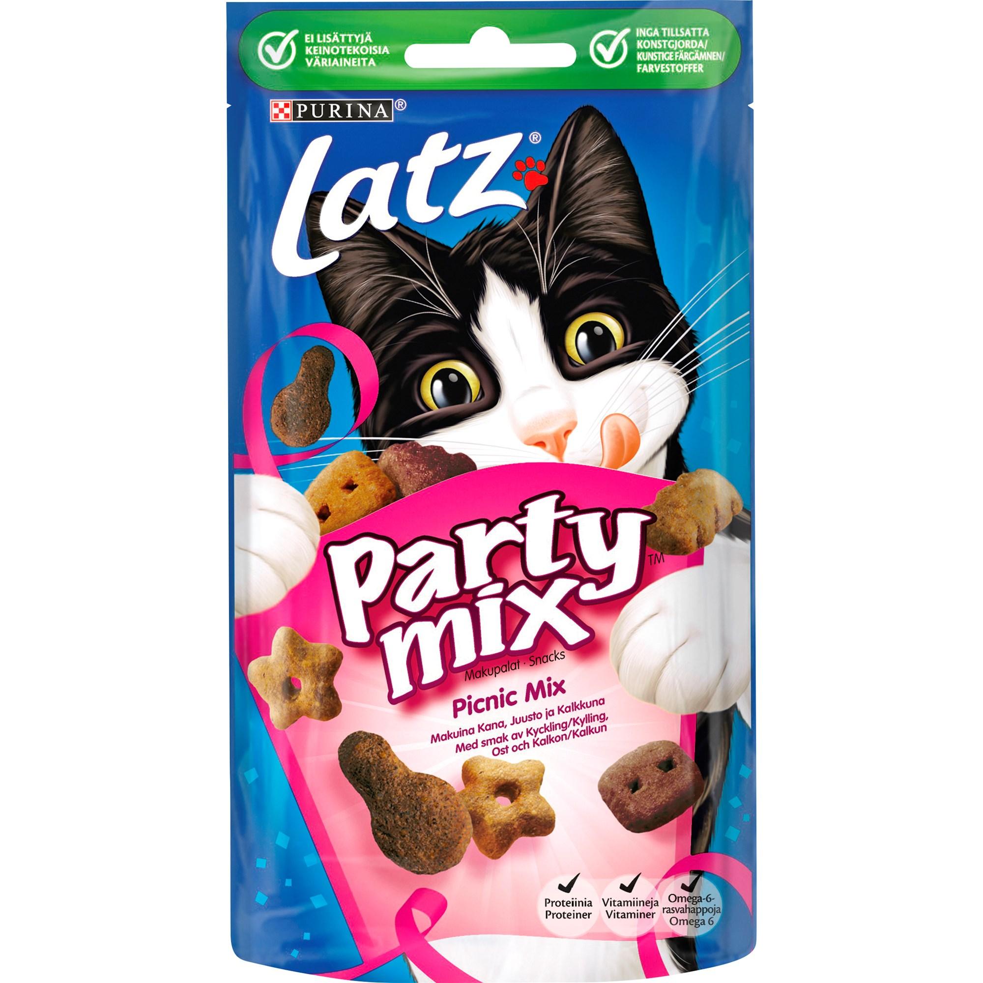 Kattgodis Party Mix Picnic